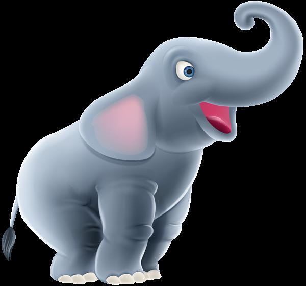 Cute_Elephant_Cartoon_PNG_Clip_Art_Image