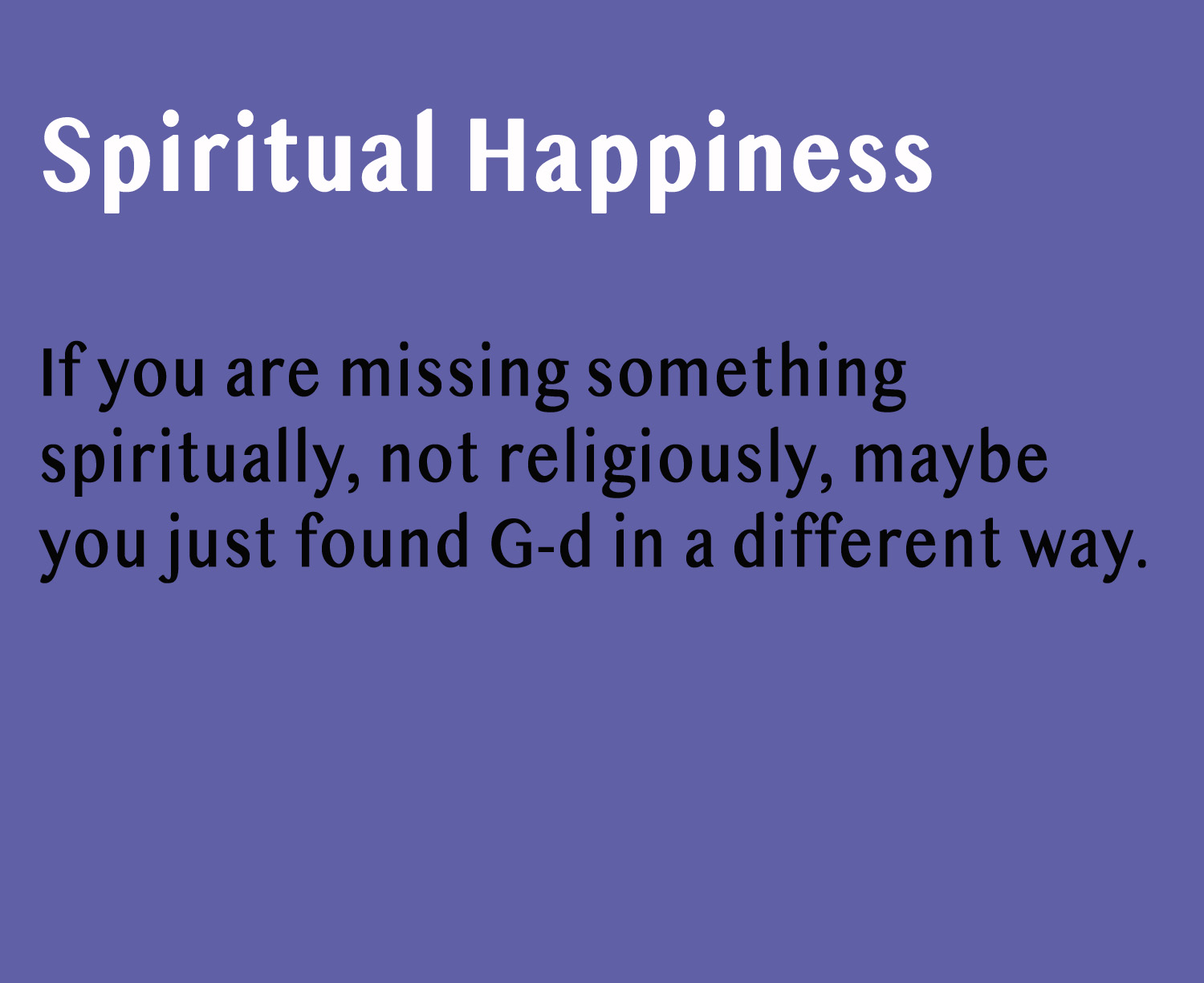 Spiritual Happiness with Lyn-Dee Eldridge